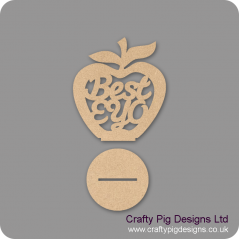 3mm MDF Best EYO - Freestanding Apple Teachers