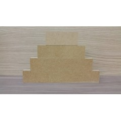 18mm Blocks Stepped - choose from 6 sizes (individual blocks not sets)