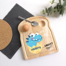 Printed Breakfast Board - Dinosaur Design Personalised and Bespoke