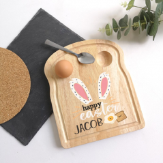 Printed Breakfast Board - Easter Bunny Ears Design