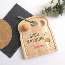 Printed Breakfast Board -  Good Morning Design Personalised and Bespoke