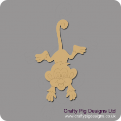 3mm MDF Cheeky Monkey