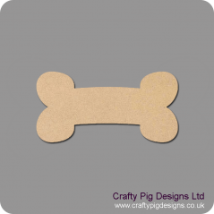 3mm MDF Dog Bone (pack of 10)(3cm) Animal Shapes