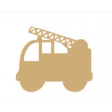 3mm MDF Fire Engine Transport