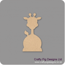 3mm MDF Funky Giraffe shape Fairy Doors and Fairy Shapes