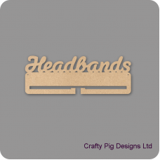 4mm MDF Headband Holder For the Ladies