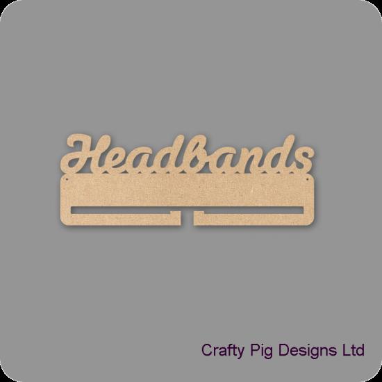 4mm MDF Headband Holder For the Ladies
