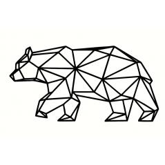 3mm mdf Geometric Polar Bear Animal Shapes