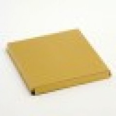 100x100mm Platform Metallic Gold for Wine Glass Box