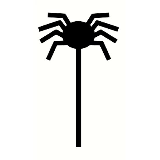3mm mdf Spider Wand Halloween