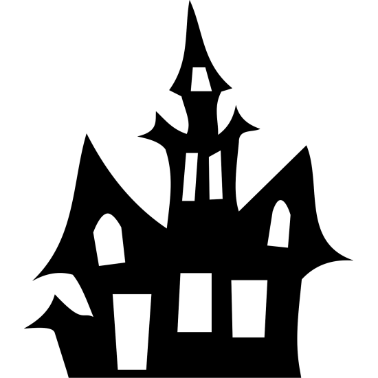 3mm MDF Haunted House Halloween