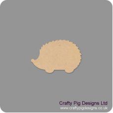 3mm MDF Hedgehog Shape (by width) Basic Shapes