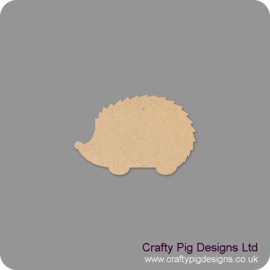3mm MDF Hedgehog Shape (by width) Basic Shapes