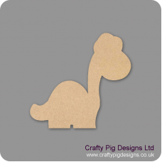 3mm MDF Long Neck Dinosaur Fairy Doors and Fairy Shapes