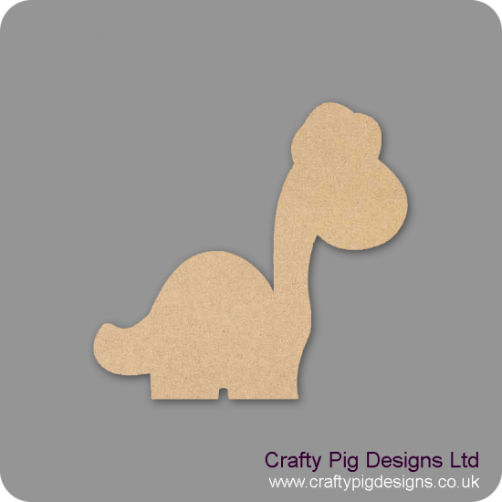 3mm MDF Long Neck Dinosaur