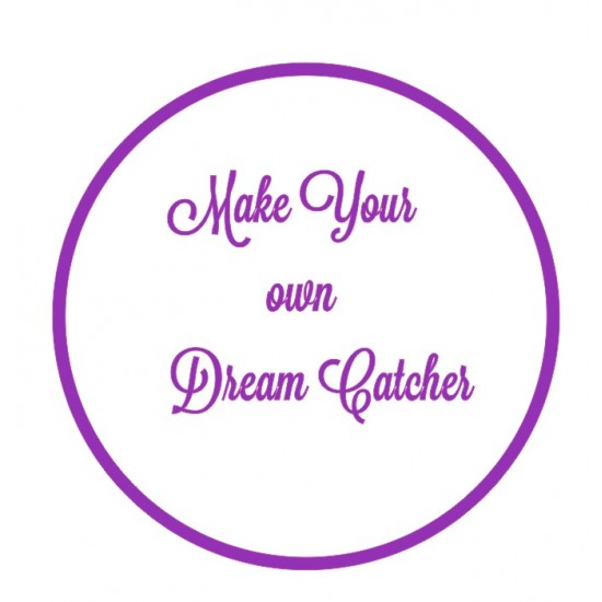 3mm mdf Make Your Own Dream Catcher Personalised and Bespoke
