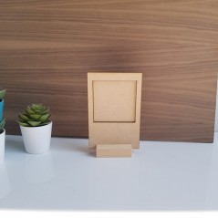 3mm mdf Polaroid Holder with Stand Photo Frames
