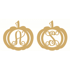4mm Monogram Pumpkin Halloween
