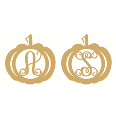 4mm Monogram Pumpkin