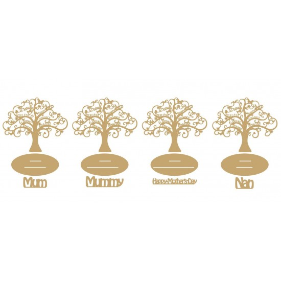 3mm mdf Mother's Day Tree Mother's Day