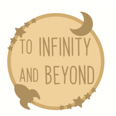 3mm mdf Layered Circle - To Infinity and Beyond