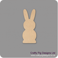 18mm Freestanding Tall Bunny Easter