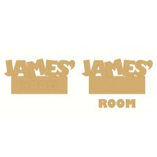 3mm MDF Door Plaque Toy Story Theme Room & Door Plaques