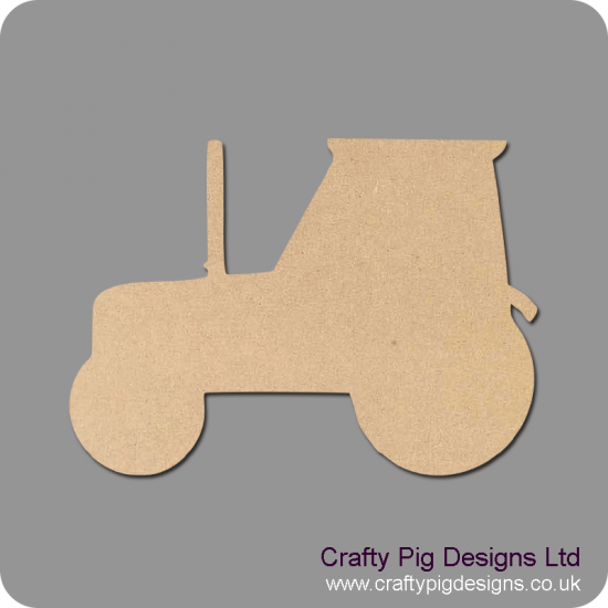 3mm MDF Tractor bunting (pack of 10) Bunting
