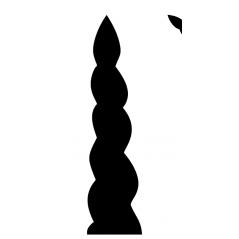 18mm mdf Unicorn Horn