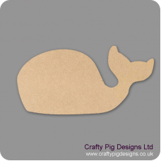 18mm MDF whale Shape (by width) 18mm MDF Craft Shapes