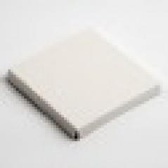 100x100mm Platform Antique White Pelle for Wine Glass Box