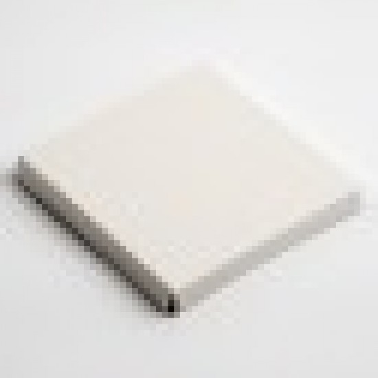 100x100mm Platform Antique White Pelle for Wine Glass Box