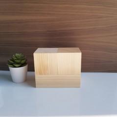 3 Piece Calendar Blocks Wooden Blocks, Tea Lights and Stacking Block Sets