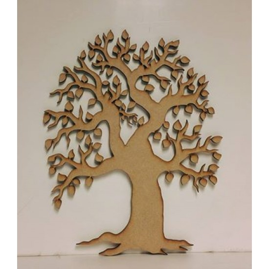 3mm MDF Old Style Tree with roots