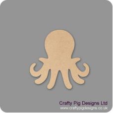 3mm MDF Octopus Shape Animal Shapes