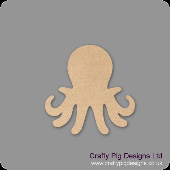 3mm MDF Octopus Shape Animal Shapes
