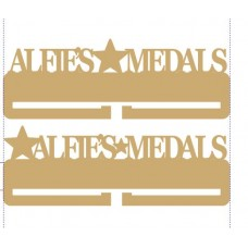 3mm Personalised Acrylic Medal Holder Medal Holder / Hanger