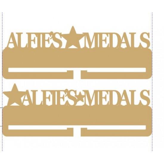 3mm Personalised Acrylic Medal Holder Medal Holder / Hanger