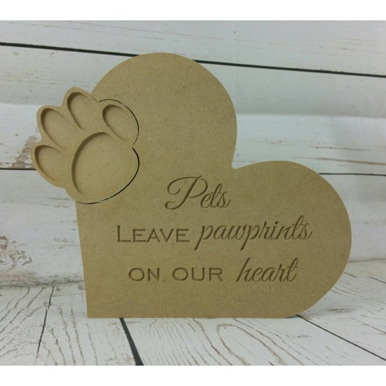 18mm Pets Leave Paw Prints On Your Heart Pet Quotes