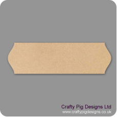 3mm mdf Plaque Shape 9 Basic Plaque Shapes
