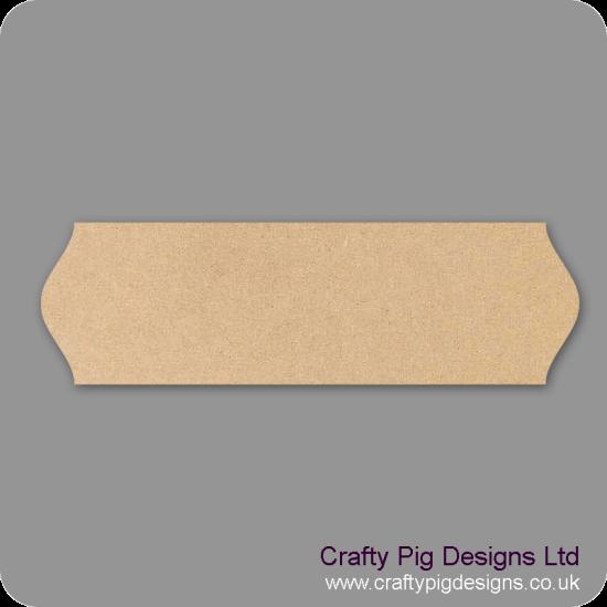 3mm mdf Plaque Shape 9 Basic Plaque Shapes