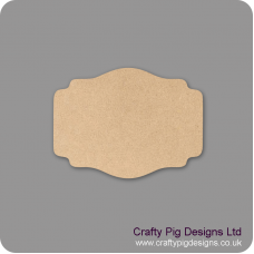3mm mdf Plaque Shape 6 Basic Plaque Shapes