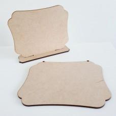 4mm MDF Plaque Shape 11 Basic Plaque Shapes