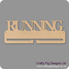 "4mm MDF ""RUNNING"" Medal Holder Medal Holder / Hanger"