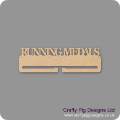 "4mm MDF ""Running Medals"" Medal Holder Medal Holder / Hanger"