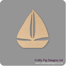 18mm Sail Boat 18mm MDF Craft Shapes