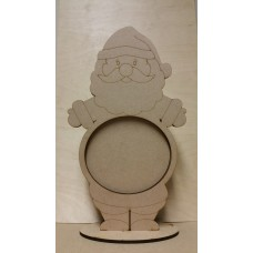 3mm MDF Santa Advent Calendar Drop Box