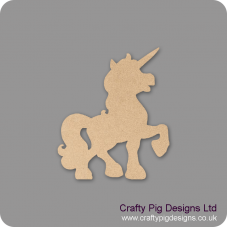 3mm MDF Unicorn Shape Animal Shapes