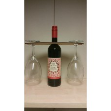 3mm MDF Wine Glass Holder Basic Shapes